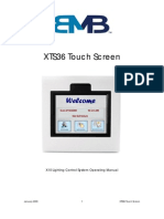 XTS36 EasyTouch Operation Manual X-10 BMB