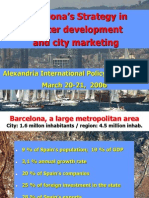 Barcelona's Strategy in cluster development and city marketing
