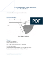 Experiment 2 Fluid Mechanics