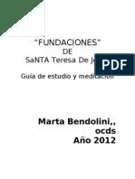 Fundaciones Guia de Estudio y Meditacion Web