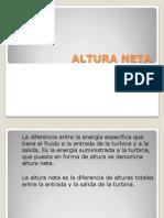 ALTURA NETA