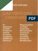 Las virtudes cristianas - P. Benjamín Martín Sánchez
