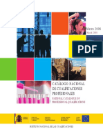 Catálogo Nacional de Cualificaciones