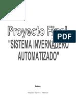 Proyecto Invernadero Con Plc