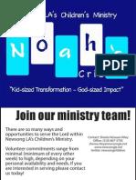 Newsong LA Ministry Fair - Noah's Crib