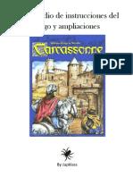 Carcassonne Compendio de Instrucciones