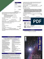 2012 Worship Bulletin