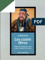 Los 4 Libros de Confucio