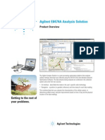 Agilent E6474A Analysis Solution