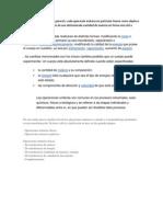 Datos Para Las Diapositivas de Operaciones