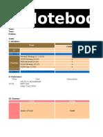 EDT (GCDP) Notebook April 2012