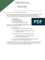 Baruch FIN 4750-QTR R.J. Reynolds International Financing Case Questions