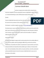 Internet Bank Analysis - 3 Banks Website  - Academic Assignment - Top Grade Papers