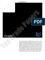 Oracle Report  - Academic Assignment - Top Grade Papers