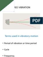 Free Vibration
