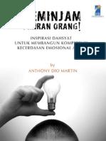 eBook Motivasional Anthony Dio Martin - Meminjam Pikiran Orang