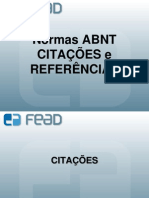 CITACOES E REFERENCIAS 1 - 2012