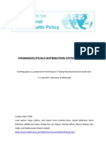 Pharmaseuticl Distribution Systems in India
