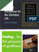 Donald Whitney, Spiritual Disciplines