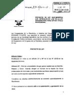 PROYECTO DE LEY A PUNTO DE SER APROBADO LEY UNIVERSITARIA
