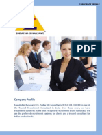 Corporate Profile Manufacturing Sector