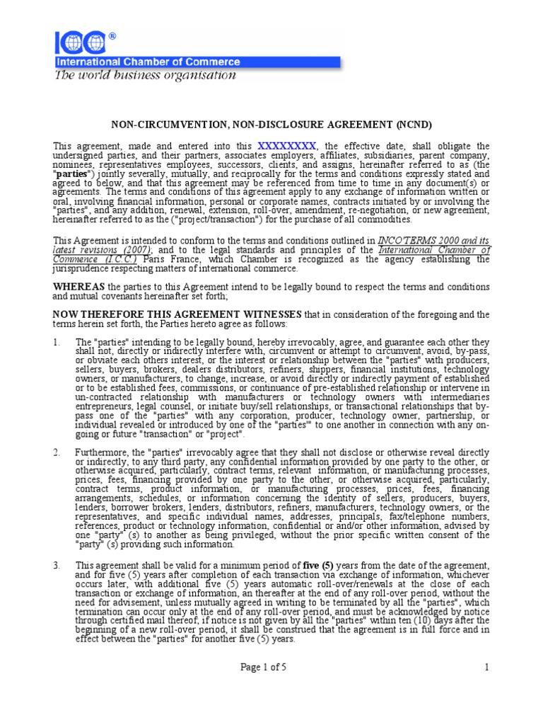Ncnda Arbitration Financial Transaction