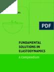 Fundamental Solutions in Elastodynamics a Compendium by E-Ka