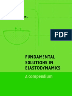 Fundamental Solutions in Elastodynamics a Compendium by E-Ka