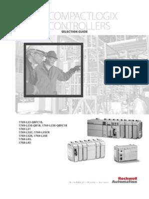 Rockwell Allen Bradley PLC - CompactLogix Controllers