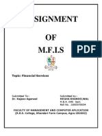 Finacial servicess