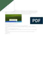Cara Mematikan Activation Key Windows Xp