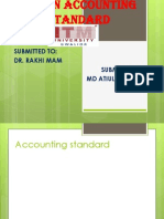 Ppt on Accounting Standard Khan