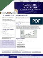Navigate the 2011 Cpa Exam