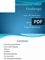 International HRM Challenge
