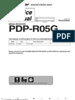 6031574-Repair Manual Pioneer Pdp R05g Media Receiver