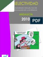 PAU Examenes Resueltos Economia de La Empresa Andalucia 2010