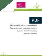 FEI-Repertoire Outils Formationlinguistique