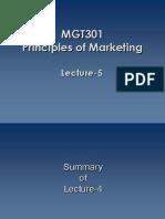 MKT-Lec-5