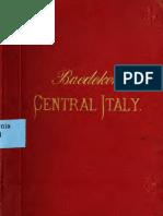 Italy; Handbook for Travellers (Volume 2) - Karl Baedeker (Firm) 1900