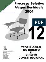 prova direito ufba - 2004
