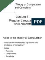 Lecture1 Finite Automata