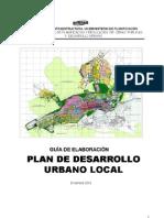 PDUL Guia de Elaboracion Plan de Desarrollo Urbano Local MOPVI