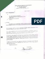 NHRC recomendation for compensation