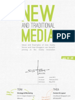 """Presentation SisterMAG """"New and traditional media"""" for The Hive 2012"""