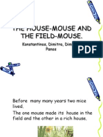 The House-mouse and the Field-mouse