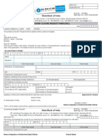 Account Closure Request Form
