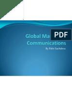 Global Marketing Communications