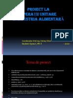 prezentare proiect distilare