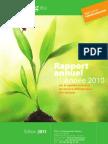 Rapport annuel sur la gestion des déchets dans la CUS (2010)