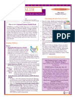 WEALTH - WIN Women's Health Policy Network Newsletter May 2012